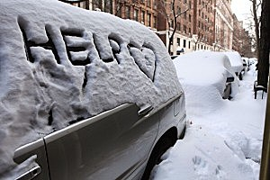 US East Coast Begins To Dig Out After Large Blizzard