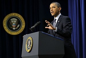 President Obama Holds News Conference At White House