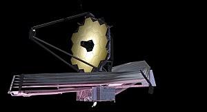 Artist conception of the James Webb Telescope