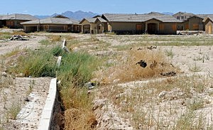 Las Vegas Area Subdivision Becomes Ghost Town Due To Foreclosure Crisis