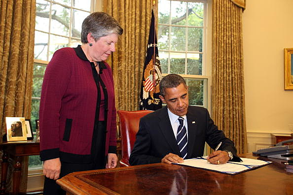 President Obama Signs Southwest Border Security Bill