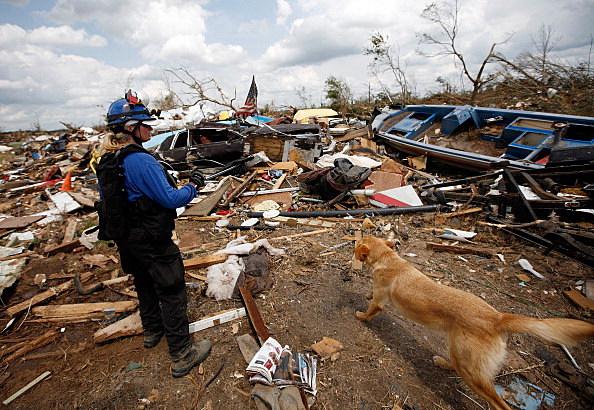 Joplin MO Flattened By Monster Tornado
