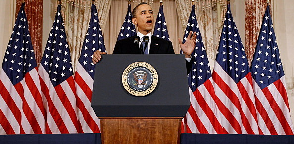President Obama Delivers Speech On Mideast And North Africa Policy