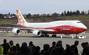 Boeing 747-8 Intercontinental Aircraft Makes Its Maiden Flight