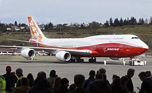 Boeing 747-8 Intercontinental Aircraft Makes Its Maiden Flight