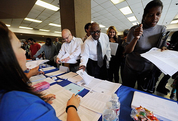 LA Mission Holds Skid Row Job Fair