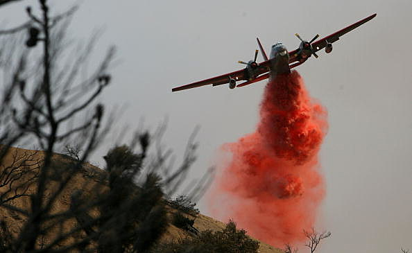 Wildfires North Of Los Angeles Double In Size, 10,000 Homes Threatened