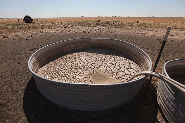 Record Heat Wave Exacerbates Devastating Drought In Central U.S.
