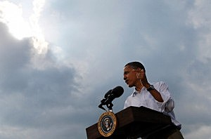 Obama Takes Three-Day Midwestern Bus Tour To Discuss Economy