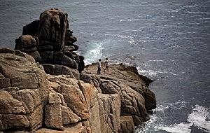 The Minack Cliff Top Ampitheatre In Porthcurno