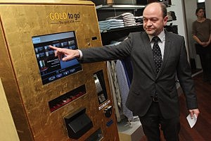 Berlin's First 'Gold To Go' Vending Machine