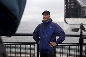 Jim Cantore Reports On Hurricane Irene For The Weather Channel