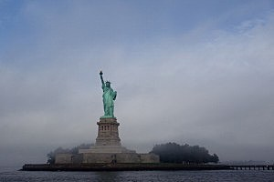 Sarkozy Joins NYC Mayor Bloomberg To Celebrate 125 Years Of Statue Of Liberty