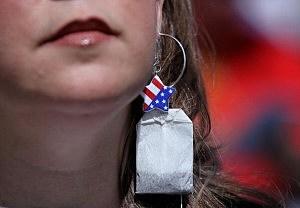 Tax Activists Hold Tea Party Rally In Pleasanton, California