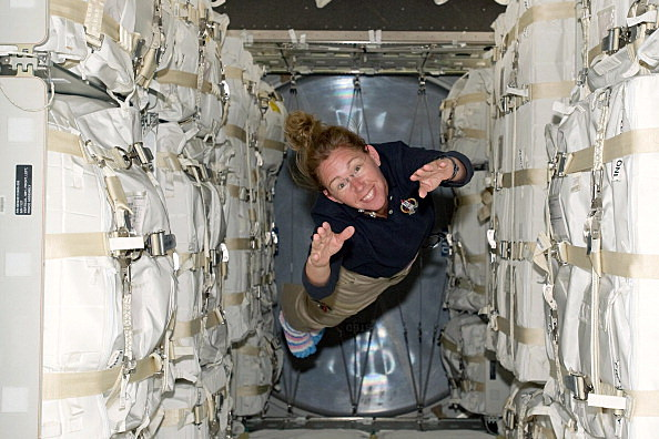 astronauts having fun in space - photo #8