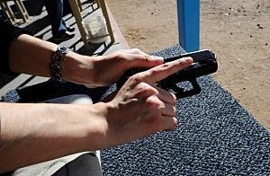Gun Show Held At Pima County Fairgrounds