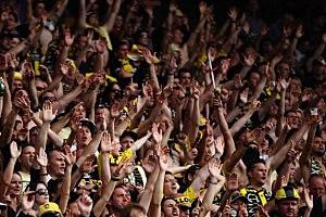 A-League Rd 17 - Wellington v Melbourne