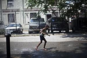 Record Heat Wave Grips Northeast