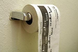 Stock Quote Toilet paper