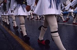 November 20, 2006. Athens, Greece. Parade.