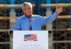 George W. Bush Presidential Library Under Construction In Dallas
