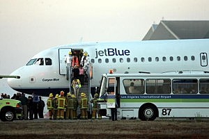 JetBlue Airliner Makes Emergency Landing At LAX