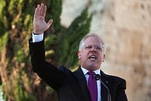 American Broadcaster Glenn Beck Hosts Rally At Jerusalem's Western Wall