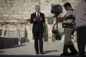 American Broadcaster Glenn Beck Hosts Rally At Jerusalem's Western Wall