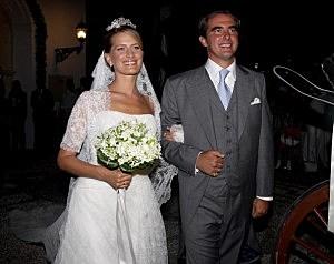 Wedding of Prince Nikolaos and Miss Tatiana Blatnik - Wedding Service