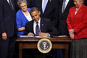 Obama Signs Reauthorization Of  Export-Import Bank