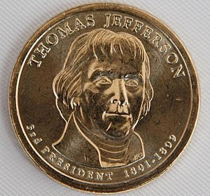 U.S. Mint Introduces New Thomas Jefferson One-Dollar Coin