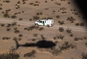 U.S. Conducts Aerial Patrols Of U.S.-Mexico Border