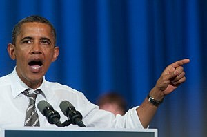 Obama Discusses Plan To Build Economy At Iowa Campaign Event