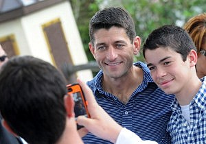 Paul Ryan Attends Victory Rally In Florida