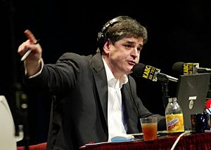 Radio Talk Host Sean Hannity Live in Los Angeles