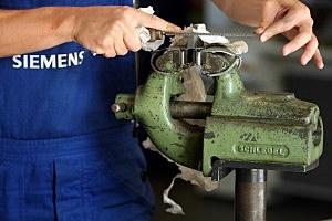 Siemens Trainees Begin Vocational Training