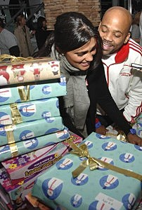 """Fifth Annual """"Wrap To Rap"""" Holiday Gift Wrapping Benefit"""