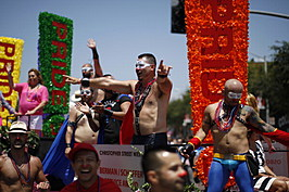Gay Pride Celebrated At Annual Los Angeles Parade