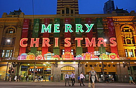 Melbourne Lights Up For Christmas