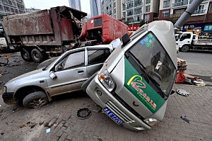 Two Dead In Guiyang Traffic Accident