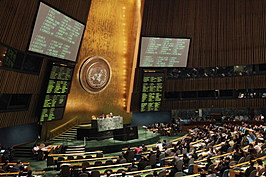 United Nations General Assembly Votes On Syrian Resolution