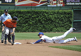 Houston Astros v Chicago Cubs