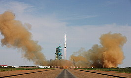China Launches Shenzhou X
