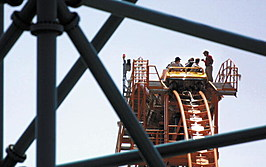 Six Flags Roller Coaster Shut Down