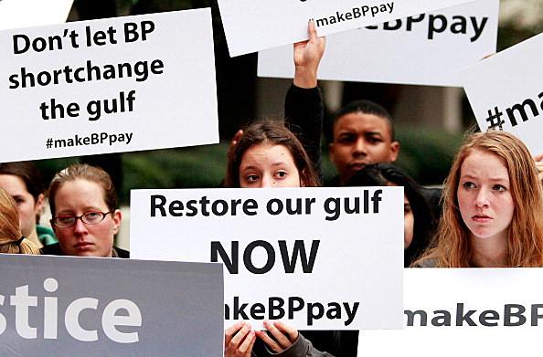 Civil Suit Against BP For Gulf Oil Spill Begins