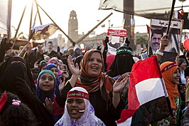 Egyptian Forces Threaten to Remove Pro Morsi Demonstrators