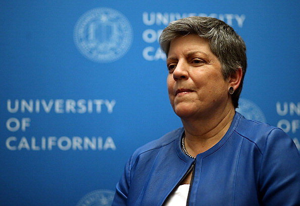 University Of California Board Votes On Napolitano Becoming President