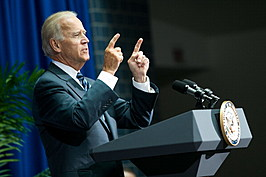 Biden Swears In Anthony Foxx As Transportation Secretary