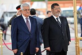 Palestinian President Mahmoud Abbas Visits Egypt