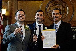 Gay Couples Wed As California Lifts Stay on Same-Sex Marriages After Supreme Court Ruling